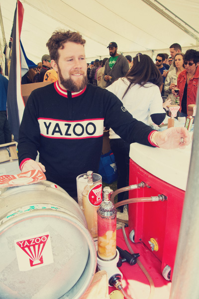 Yazoo at the 2014 East Nashville Beer festival