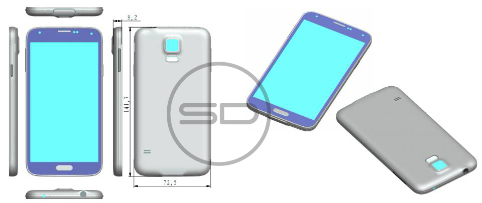 Samsung Galaxy S5 Design Details
