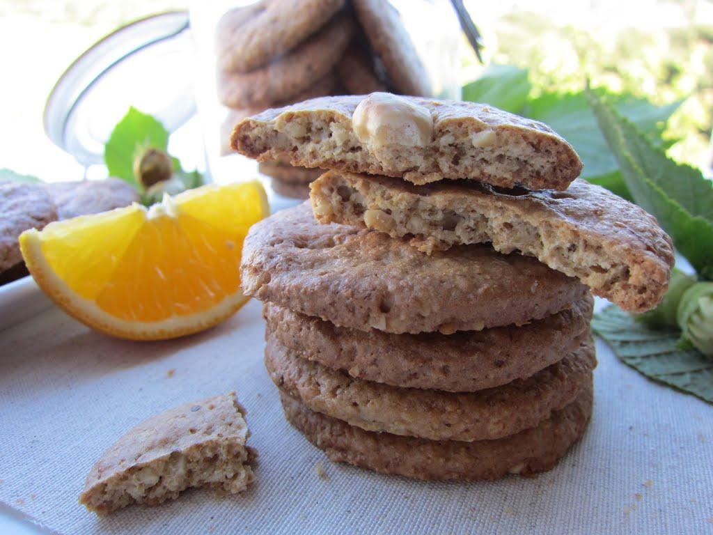 Una pincelada en la cocina: galletas ligeras de avena con naranja y ...
