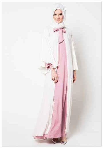 miranda muslim Baju kodok muslim nura jeans fg bahan : inner kaos salur overall jeans, karet pinggang belakang tanpa kerudung ukuran : allsize panjang 140-150cm (tali pundak  .