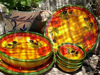 Spanish olive ceramics