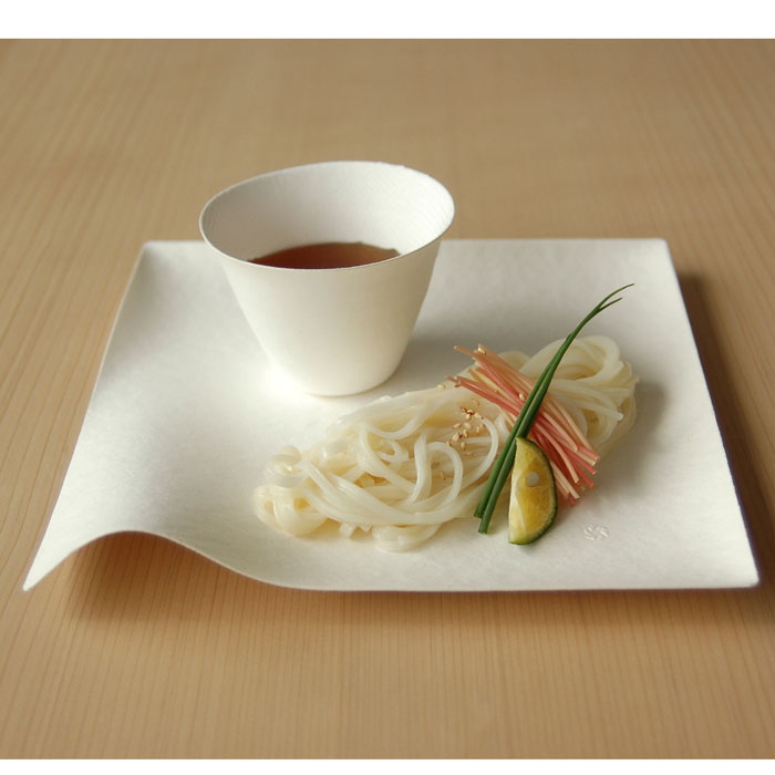 These awesome biodegradable and compostable tableware is designed in Japan by one of my favorite designers Shinichiro Ogata of Simplicity. & Lena Sekine: Wasara Biodegradable Tableware