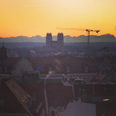 Almhütte Mandarin Berge Blick München