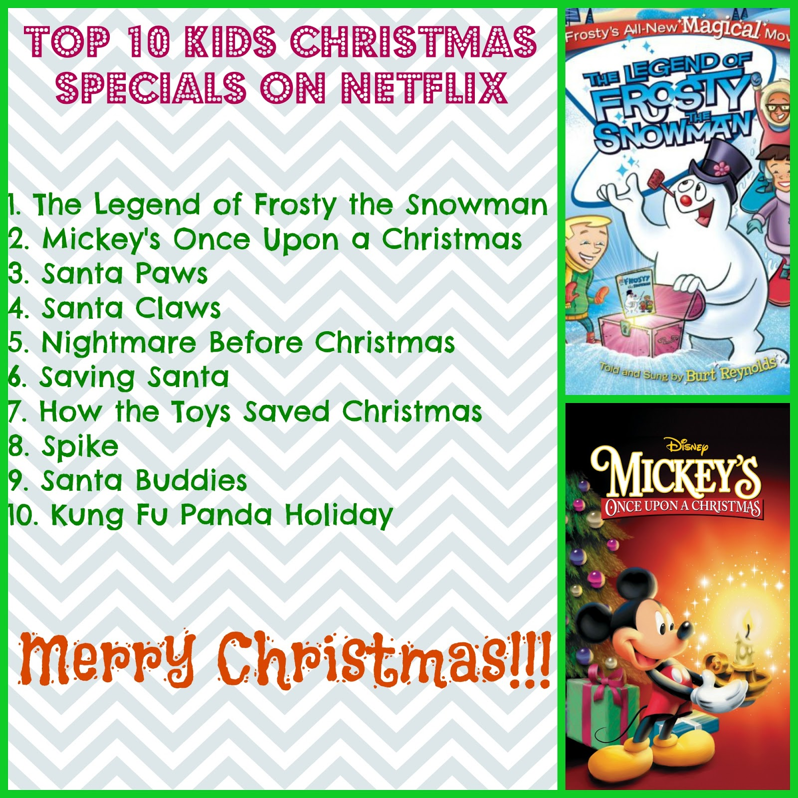 Save Green Being Green: Top 10 Kids Christmas Specials on Netflix in ...