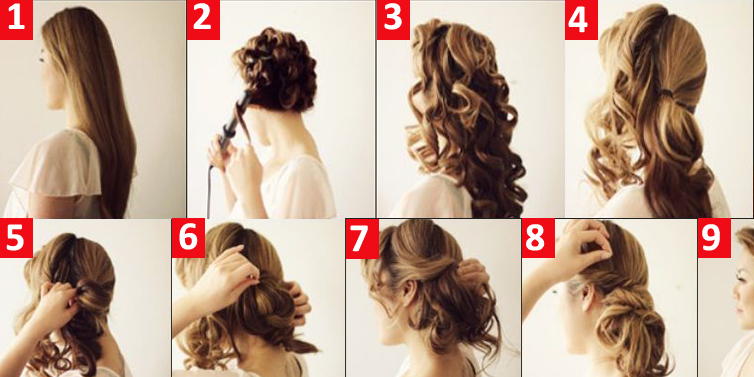 pics for gt easy step by step updos
