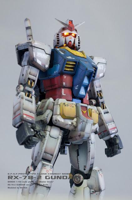 Master Grade kit RX-78-2 Gundam version 3.0