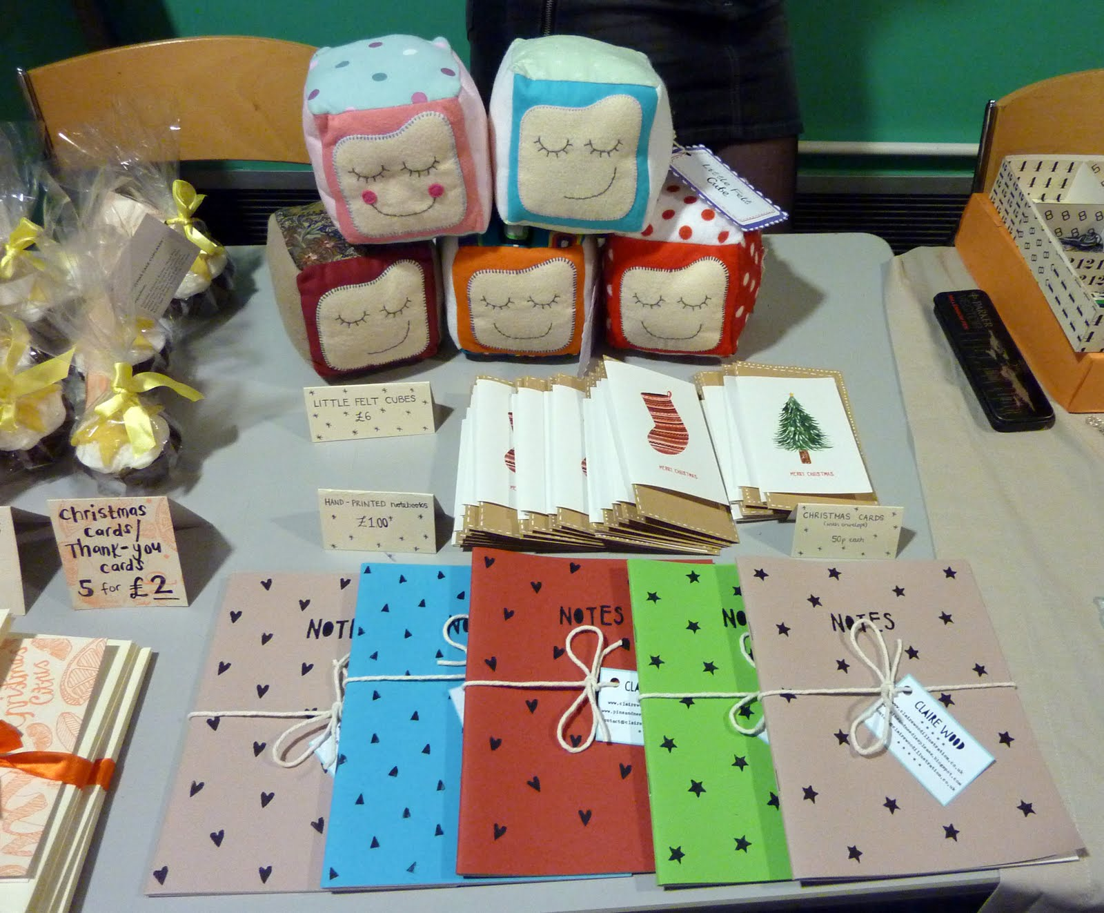 Pins and needles please christmas craft fair for Making craft items to sell