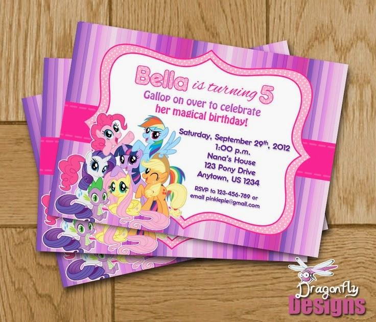 Decoración para cumpleaños de My Little Pony - Imagui