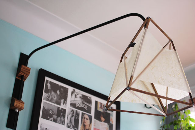 mimshi blogger: Cantilever lamp & teenage daydreaming