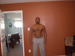 My Hubby after beginning P90X