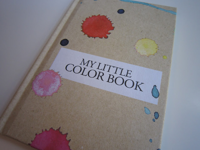My little color box - little box octobre 2012 livret