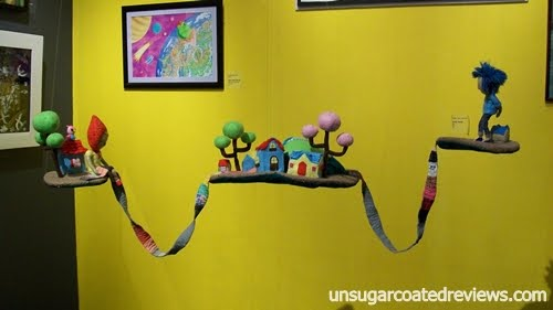 Ilustrador ng Kabataan art exhibit at Ayala Museum 3D art