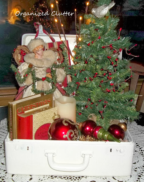 Christmas Suitcase Vignette