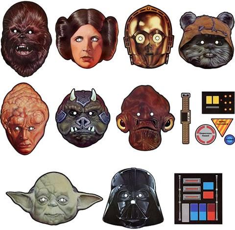 Star Wars Para Imprimir. Mscaras Recortables. X Coloring Pages ...