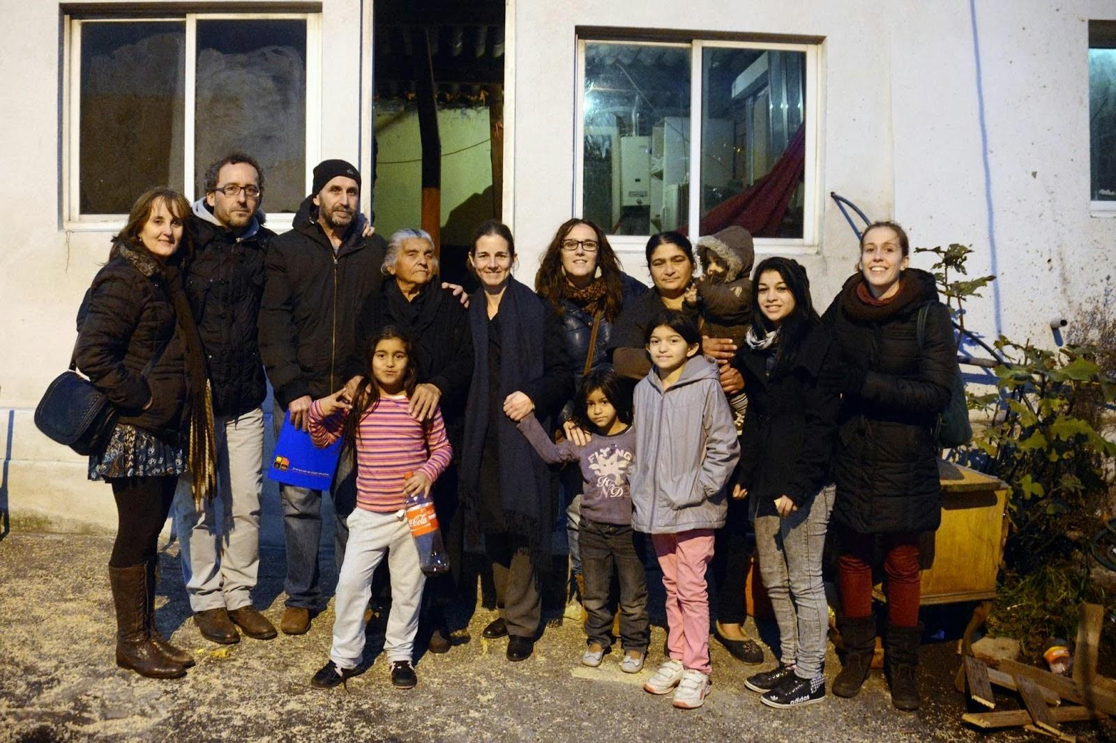 As Rañas:  visita a un barrio