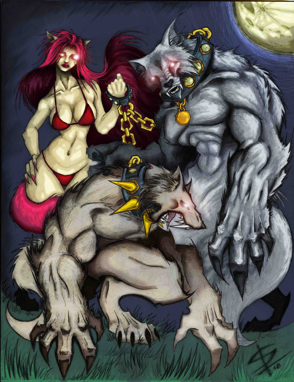 werewolf vs werefox wwwpixsharkcom images galleries