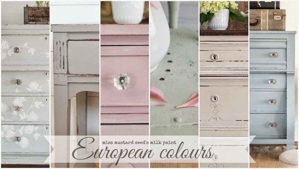The Painted Chest Miss Mustard Seeds Milk Paint European Colours