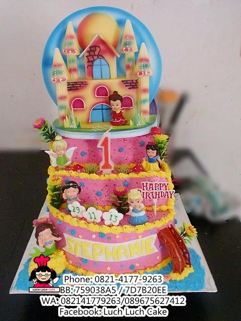 Kue Tart Princess Untuk Anak Cewek