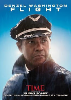 Flight movie cover with Denzel Washington