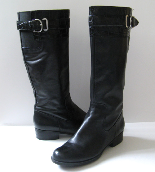 Elegant Black Riding Boots For Women Images Amp Pictures  Becuo