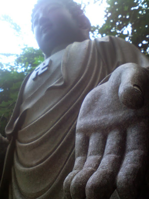 "Buda's statue at Zu Lai Temple, Cotia/SP ""Give me your hand and we'll walk together for eternity.."""