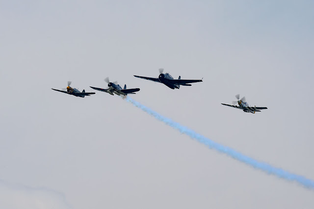 Missing Man Formation during the Arsenal of Democracy Flyover