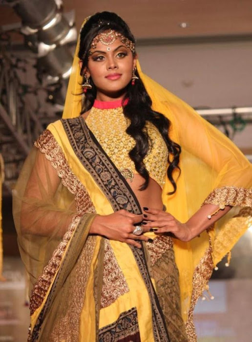karthika rwalk at cifw 2012 glamour  images