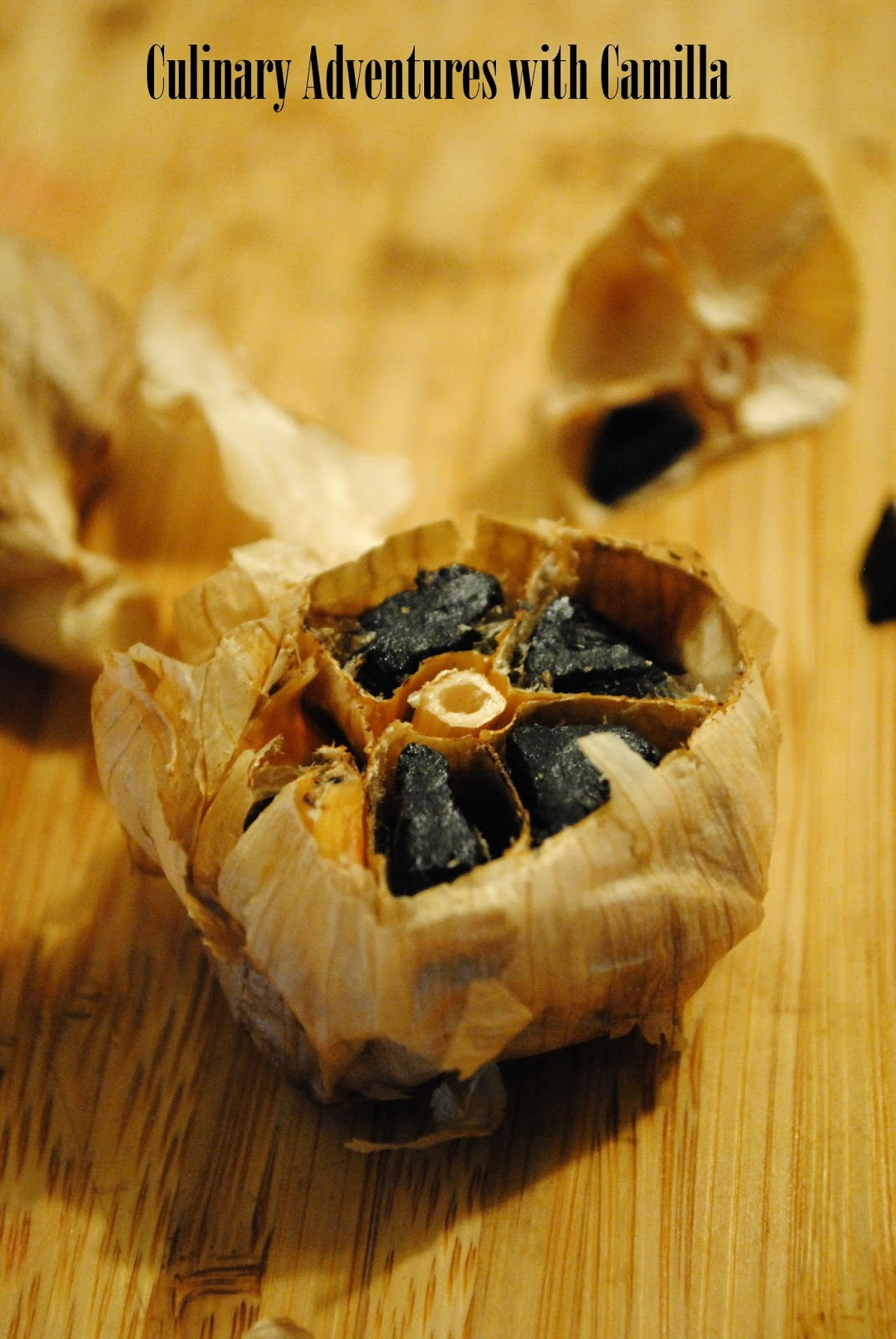 Garlic cake recipe