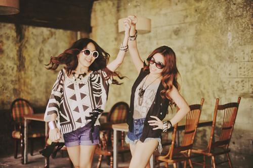 Krissy & Ericka photoshoot by Tricia Gosingtian