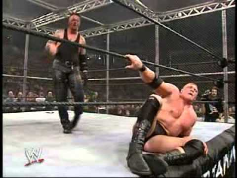 Lesnar Vs Undertaker Hell In A Cell