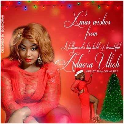 adaora ukoh christmas card