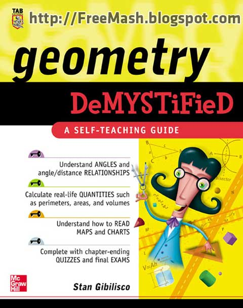 Geometry DeMYSTiFieD A SELF-TEACHING GUIDE PDF Ebook Free Download