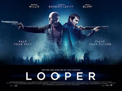 poster de looper - curiosidades