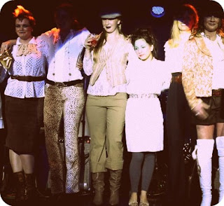 Chuks vintage fashion show