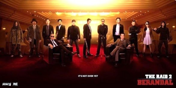 Poster The Raid 2: Berandal