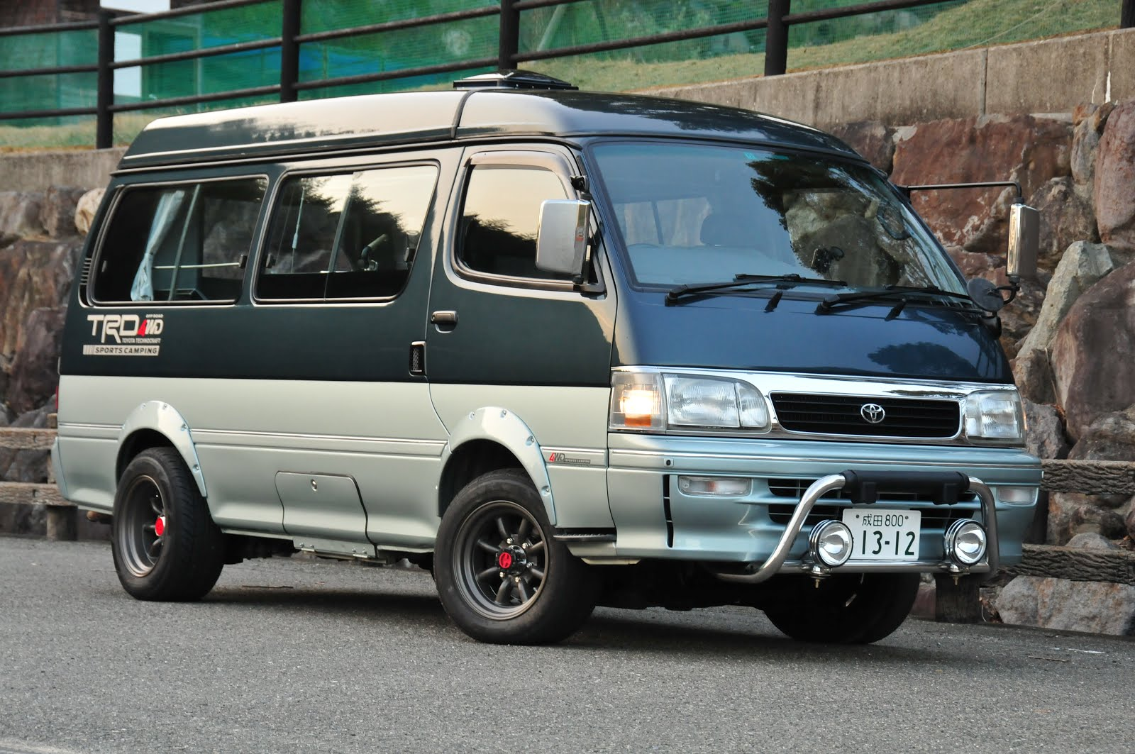 This is a picture of how the hiace looks like today following a restoration that took nearly a year at a friends paint shop in chiba and more recent