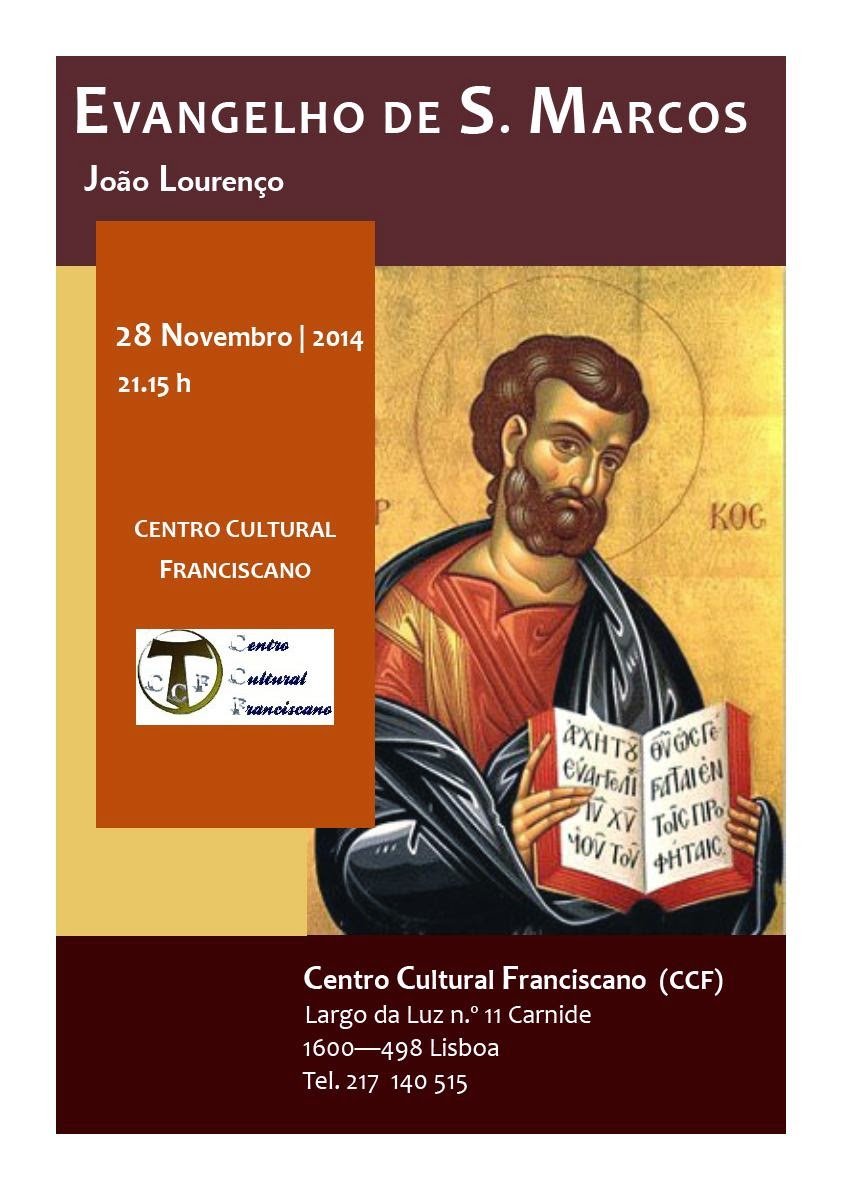 Evangelho de S. Marcos - CCF