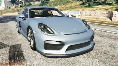 Baixar carro Porsche Cayman 2016 Para GTA V