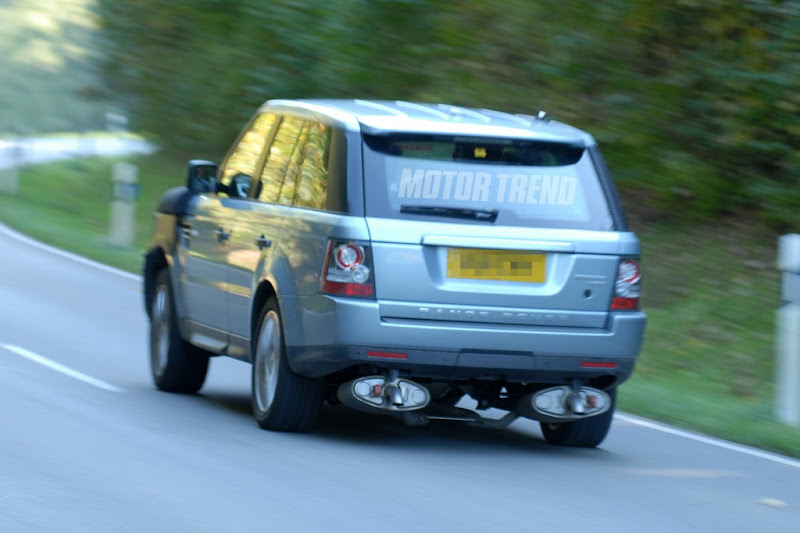 2013 Range Rover Sport Spy Photos