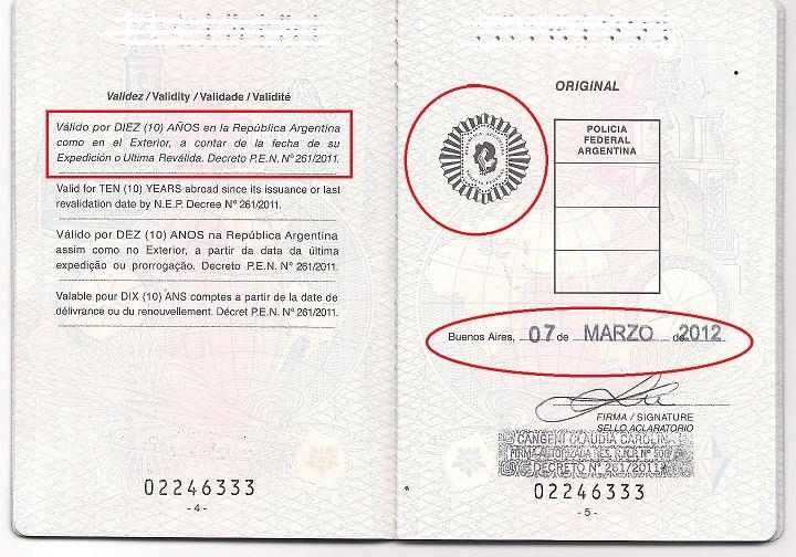 Pasaportes modificaron las libretas por el amparo for Ministerio del interior pasaporte telefono