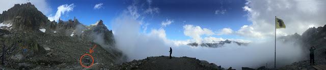 Bergpanorama bei der Sidelenhütte