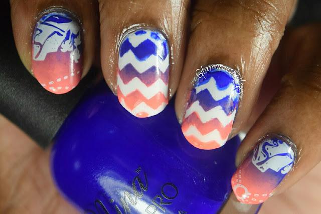 WNAC August 2015 Cobalt & Peach
