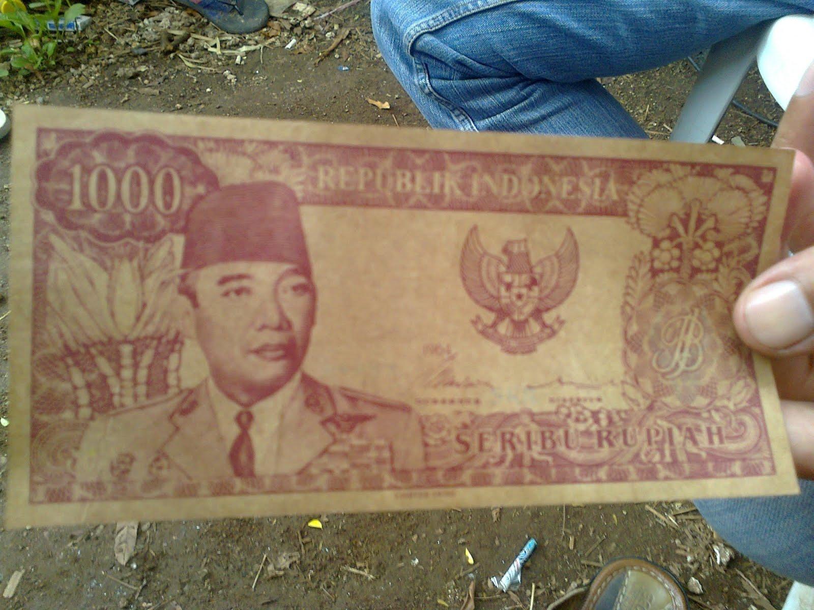 Uang Sukarno - Ende Flores
