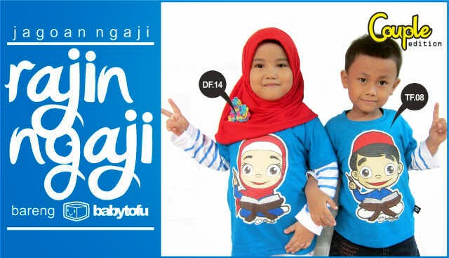 kaos anak jagoan ngaji couple edition