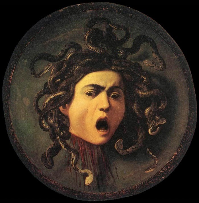 ... : Michelangelo Merisi Caravaggio - The Head of Medusa - 2d version