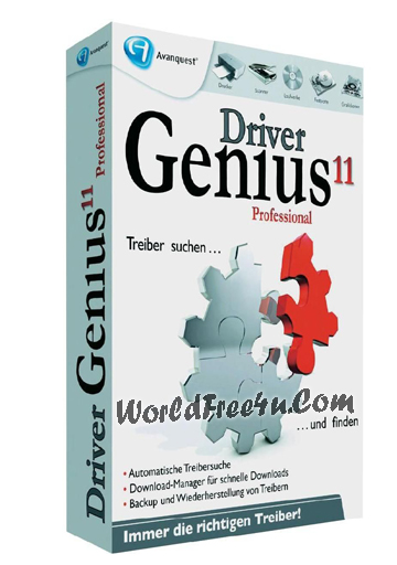 Cover Of Driver Genius Professional 11.0 (2012) Full Latest Version Free Download At worldfree4u.com
