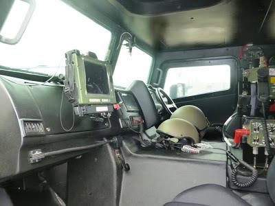 Interior Kendaraan Tempur Komodo  - PT. Pindad