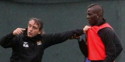 ¡Mancini narró cómo fue su pelea con Balotelli!