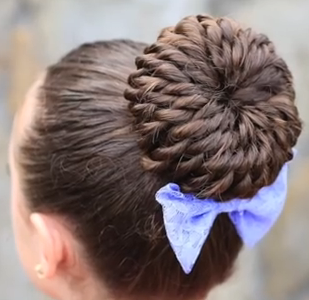 stylish prom updo hairstyle for long hair the rope