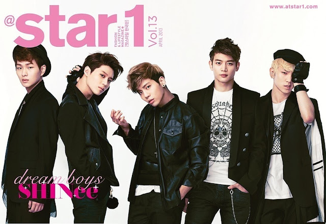 Shinee for Star1 magazine April 2013